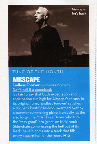 Airscape - Endless Forever: Mixmag Review