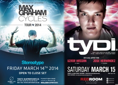 Max Graham & tyDi Live in Vancouver