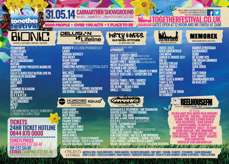 Together Festival Flyer