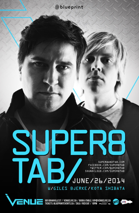 Super8 & Tab Live at Venue Nightclub, Vancouver
