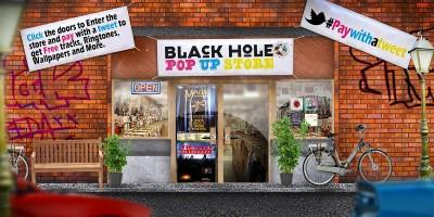 Black Hole Recordings Pop Up Store