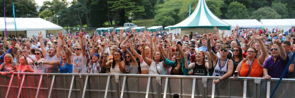 Crowd at Xstatic in the Park 2015