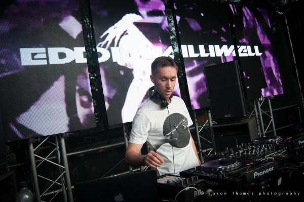Eddie Halliwell at Xstatic in the Park 2015