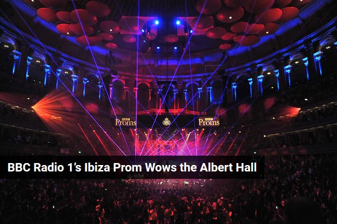 BBC Radio 1's Ibiza Prom Wows the Albert Hall